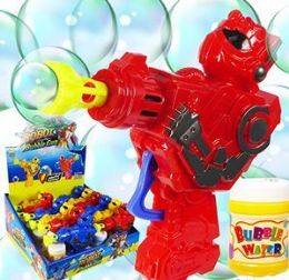 48 Units of Friction Powered Robot Bubble Guns - Bubbles