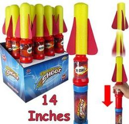 """48 Units of 14"""" Air Rocket Shooters - Toys & Games"""