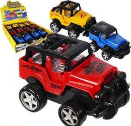 24 Units of Friction Powered Climbing Champion Jeeps - Cars, Planes, Trains & Bikes