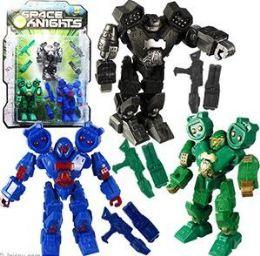 12 Units of 6 Piece Space Robot Sets - Action Figures & Robots