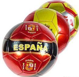 10 Units of Official Size Metalic Espana Soccer Balls - Balls