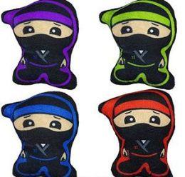 """96 Units of 6"""" Mini Plush Ninjas - Plush Toys"""
