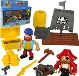 12 Units of Pirate Ship Play Sets - Toy Sets