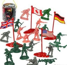 6 Units of 200 Piece Soldier Sets - Toy Sets