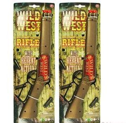 24 Units of Wild West Repeating Rifles - Toy Weapons