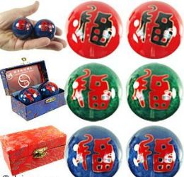 "60 Units of 1.75"" Chinese ""Fu"" Health Balls - Balls"