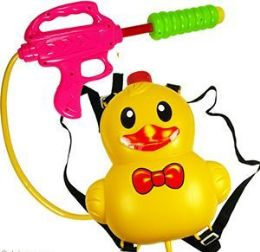 24 Units of Duck Backpack Water Blasters - Summer Toys