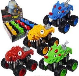 96 Units of Friction Powered 4WD Dino Monster Trucks - Cars, Planes, Trains & Bikes