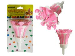 "96 Units of MUSICAL BIRTHDAY CANDLE 3"" DIA PACKING - Birthday Candles"