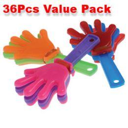 80 Units of 36 Piece Mini Hand Clapper Noisemakers - Magic & Joke Toys