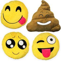 "24 Units of 12"" Plush Emojis - Plush Toys"
