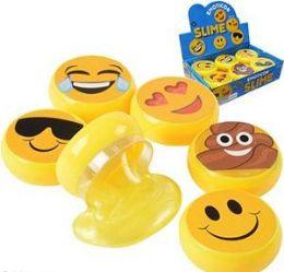 """48 Units of 3"""" Emoji Slimes - Slime & Squishees"""