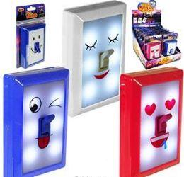 24 Units of LED Fun Switch Emoji Night Lights - Night Lights