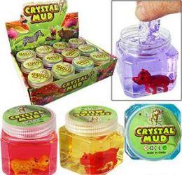 48 Units of Animal Crystal Mud Slimes - Slime & Squishees