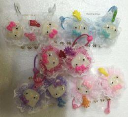 60 Units of Kitty Hair Band - Hair Scrunchies