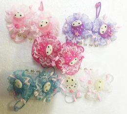 60 Units of Girl Hair Band - Hair Scrunchies