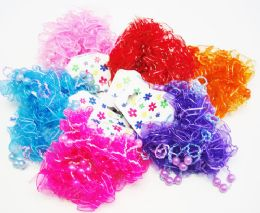 72 Units of 2 Piece Hair Band / Color Assorted - Hair Scrunchies