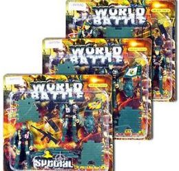 24 Units of 9 Piece World Battle Soldier Play Sets - Toy Sets