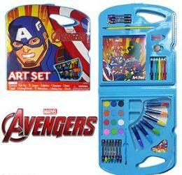 4 Units of 28 Piece Marvel's Avengers Art Sets - Craft Kits