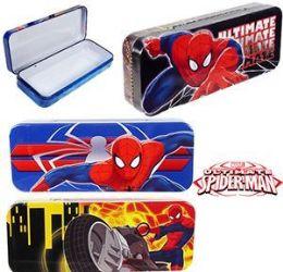 96 Units of Spiderman Metal Pencil Boxes - Pencil Boxes & Pouches