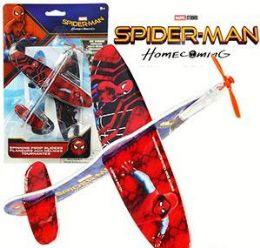 48 Units of Spiderman Propeller Glider 2 Packs - Magic & Joke Toys