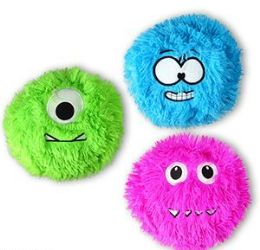"288 Units of 3"" Plush Fuzzy Monsters - Plush Toys"