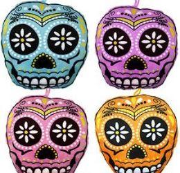 """192 Units of 5"""" Mini Plush Sugar Skulls - Plush Toys"""
