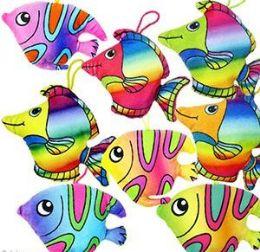 """48 Units of 5.5 """" Plush Tropical Fish - Plush Toys"""