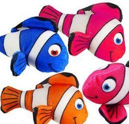 """288 Units of 6.5"""" Mini Plush Colorful Clown Fish - Plush Toys"""