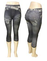36 Units of Stretch Short Pant 7'' - Womens Leggings