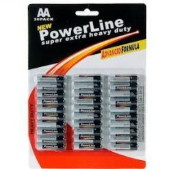"48 Units of 30 Piece ""aa"" Batteries - Batteries"