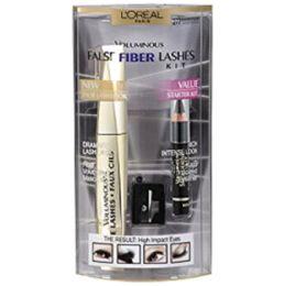 40 Units of L'oreal Voluminous False Fiber Lash Kit #277 - Cosmetics