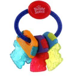 30 Units of Bright Starts Polar Gel Teether Keys - Baby Toys
