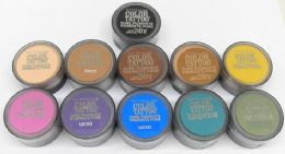 50 Units of Maybelline Color Tattoo Pure Pigments Eyeshadow - Cosmetics