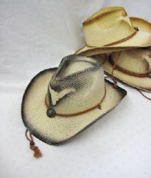 24 Units of Western Cowboy Bull Print Hat - Cowboy & Boonie Hat