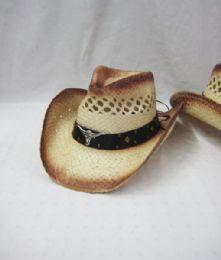 24 Units of Western Cowboy Hat In Beige - Cowboy & Boonie Hat
