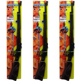12 Units of WILD WEST CAP SHOT TOY RIFLE TIED ON CARD - Toy Weapons