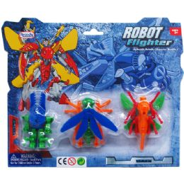 72 Units of Robots On Blister Card - Action Figures & Robots