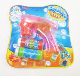 24 Units of Bubble Gun Toy Light Up - Bubbles