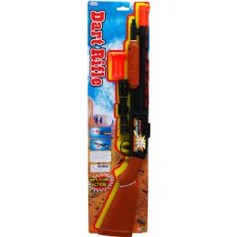 "36 Units of 23.5"" SOFT DART TOY SHOOT GUN PLAY SET TIED ON CARD - Toy Weapons"