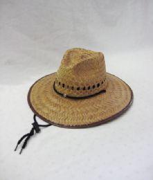 24 Units of Kid's Indiana Straw Cowboy Hat - Sun Hats