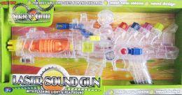 12 Units of Flash Gun /with Sound Gun - Toy Weapons