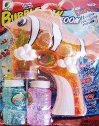 12 Units of Clown Fish Sound & Flash Bubble Toy - Bubbles