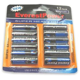 72 Units of 12 Piece Aa Battery - Batteries