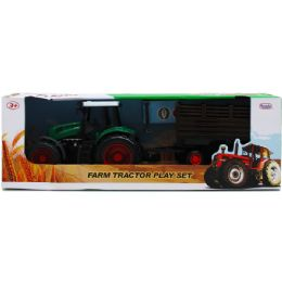 12 Units of FARM TRACTOR WITH WAGON IN OPEN BOX - Magic & Joke Toys