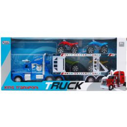 """12 Units of 16.25"""" F/w Container W/4 3"""" Quads In Window Box, Assrt Clrs - Cars, Planes, Trains & Bikes"""