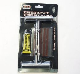 24 Units of Tire Repair Kit: Tubeless and Radial - Auto Maintenance