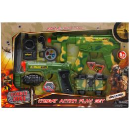 12 Units of Military Play Set In Open Box With Cover - Toy Sets