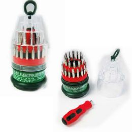 48 Units of 31 Piece In One Screwdriver Set - Screwdrivers and Sets