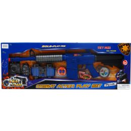 12 Units of TOY POLICE PLAY SET IN OPEN BOX WITH COVER - Toy Weapons